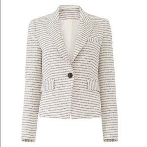NWOT Veronica Beard Horizontal Striped Blazer
